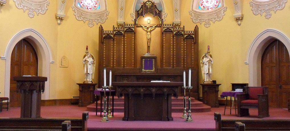 Lent Sanctuary