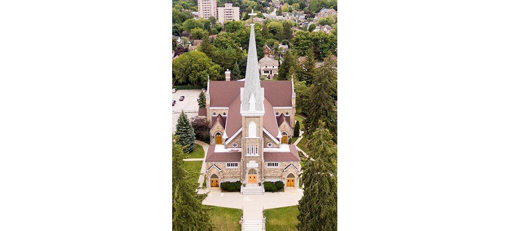 Saint Louis Aerial View
